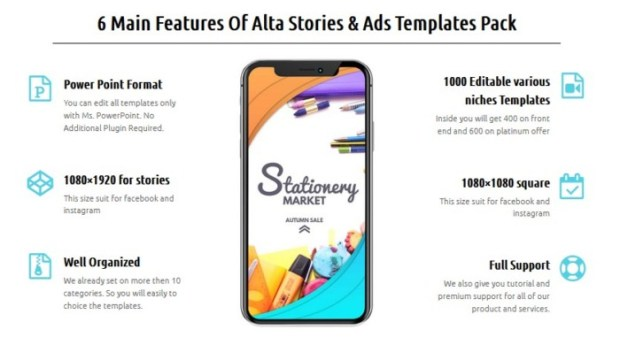 Graphic ALTA Stories And ADS Pack by Anugerah Syaifullah