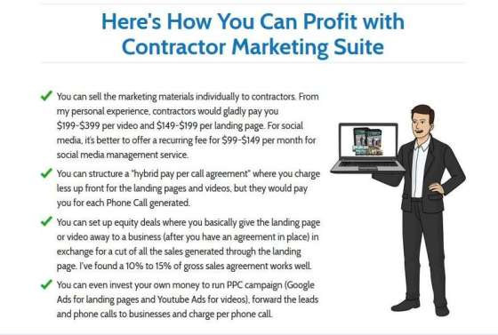 Contractor Marketing Suite by Fairy Dawn