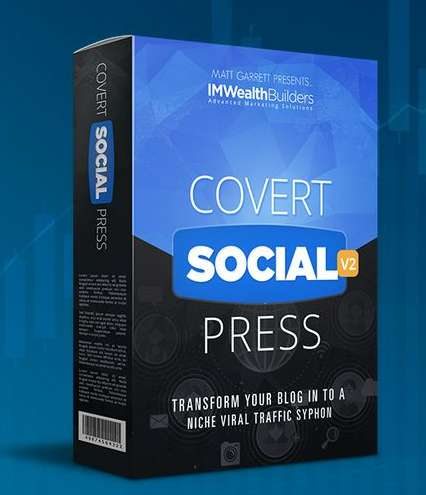 Covert Social Press 2.0 by Matt Garrett