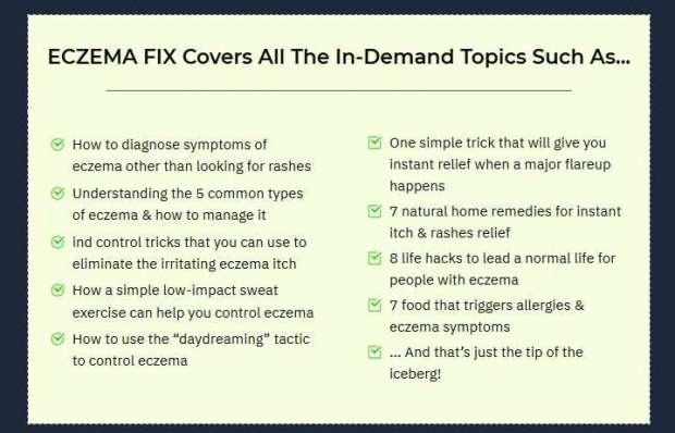 Eczema Fix   JVZOO RESEARCH
