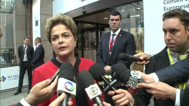 Dilma Rousseff comenta Cúpula Celac-UE na Bélgica