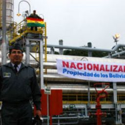 Evo Morales apresenta evolução da indústria petrolífera boliviana