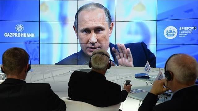 Principais pontos do discurso de Putin em São Petersburgo