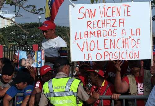 Mídia da Venezuela aposta no medo e no terror