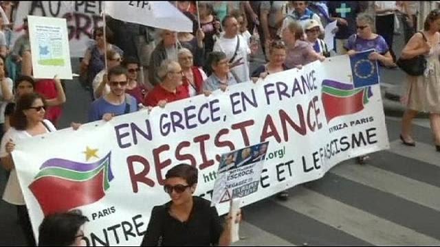 Trabalhadores francês prosseguem luta contra projeto neoliberal