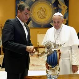 Saudação do papa para a América Latina