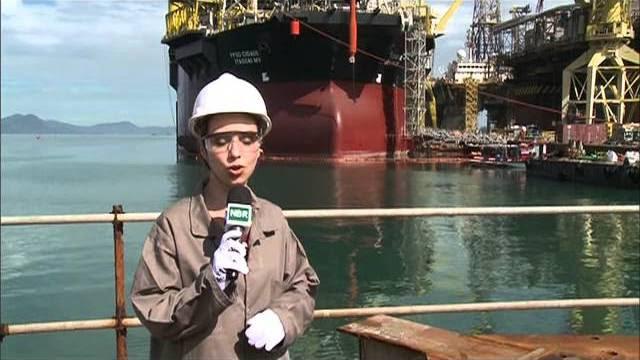 Plataforma de Itaguaí reforça produção do pré-sal