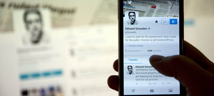 Qualquer smartphone pode ser espionado pela inteligência britânica, afirma Snowden