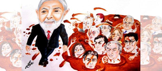 Por meios corruptos, para ferir Lula mídia agride seu filho