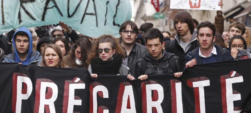 Greve geral na França contra reforma neoliberal do mercado de trabalho
