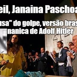 Janaina Paschoal é a menina pastora do YouTube, revela pai