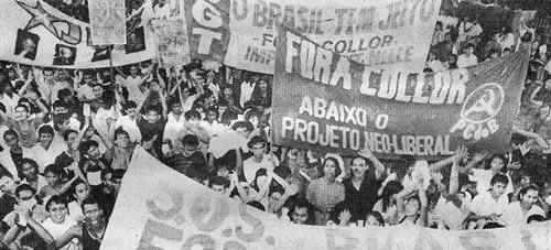 A busca de diferenças entre o impeachment de Collor e o golpe contra Dilma