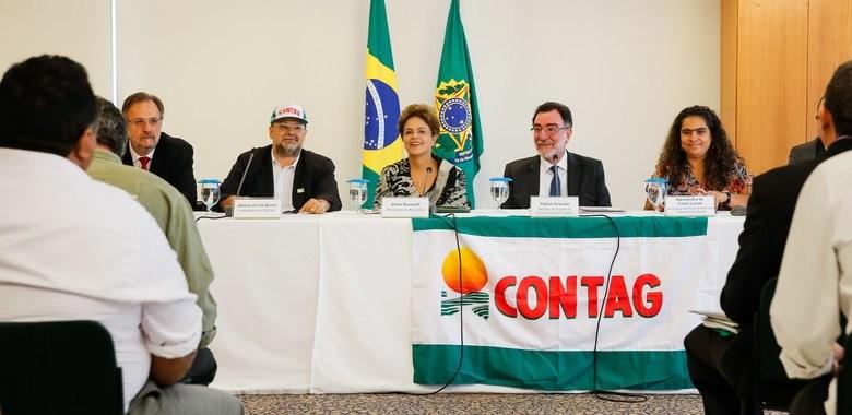 Contag presta solidariedade a Dilma Rousseff contra o golpe