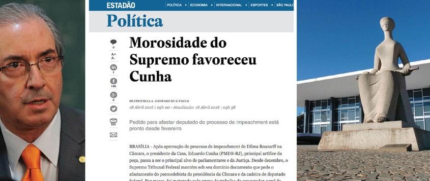 Ministros do SFT a favor do golpe acobertam Eduardo Cunha