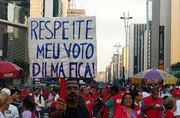 Movimentos sociais saem às ruas contra o golpe