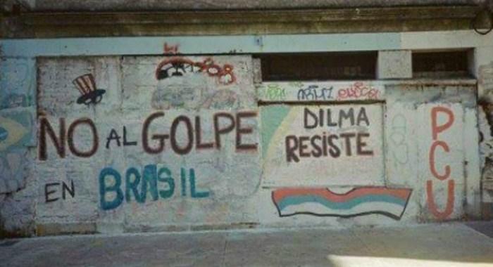 Frente Ampla do Uruguai repudia golpe contra presidenta Dilma