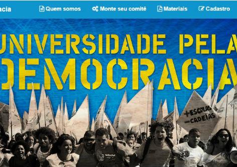 Contra o golpe, universidades criam comitês em defesa da democracia