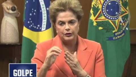 Telesur reporta denúncia de Dilma sobre trama do golpe para acobertar corrupção