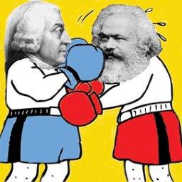 O dia em que o operário João da Silva assistiu ao duelo de Karl Marx com Adam Smith
