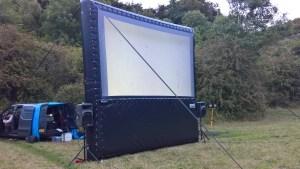 Outside screen