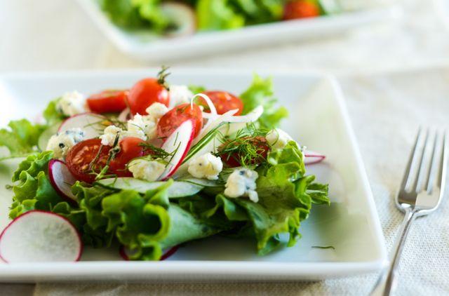 Danish Blue Cheese Salad Horizontal