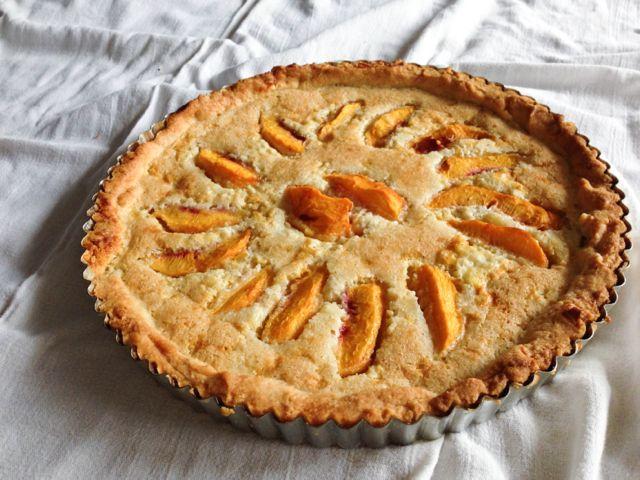 Mazarin Torte with Nectarines IMG_9531