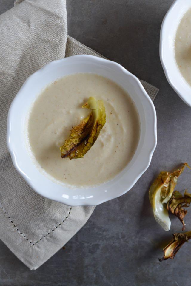 Nordic Roasted Cauliflower Soup