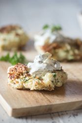 Scandinavian Fish Cakes with Remoulade