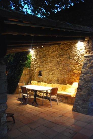 iluminacion exterior led porche