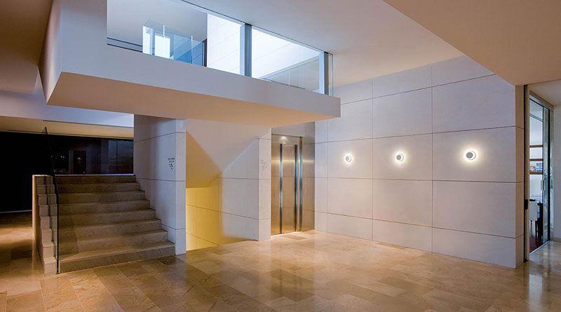 Aplique led mural con iluminación indirecta y decorativa