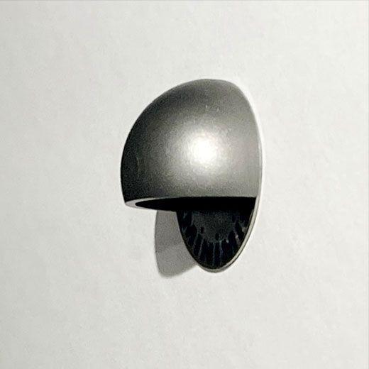 Aplique exterior empotrado para señalización y balizamiento