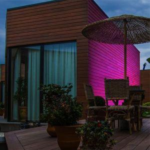Crear ambientes con iluminación exterior RGB