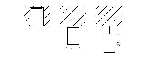 medidas luminarias led lineales de diseño