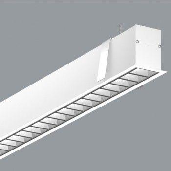 luminaria led lineal para oficinas