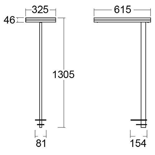 Lámpara de escritorio Leira para oficinas