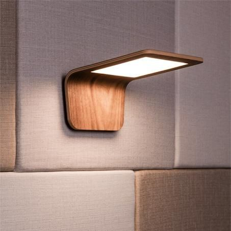 Lámparas de madera Butterfly 03