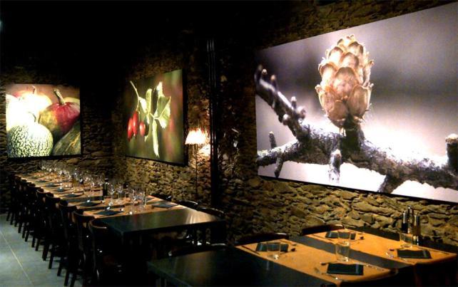 Iluminación restaurante