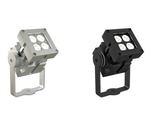 Proyector exterior LED de superficie REVO Compact Basic