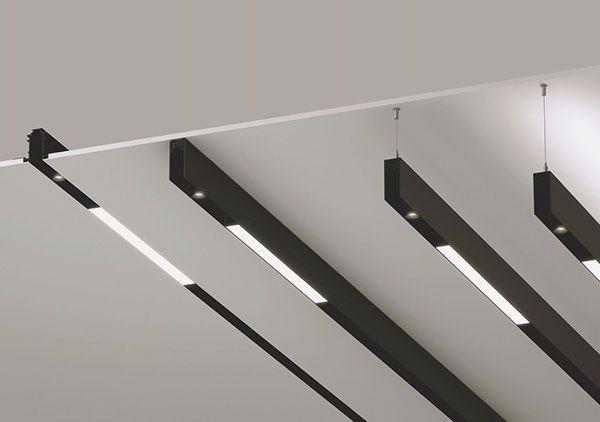Sistema d eiluminación con carriles magnéticos