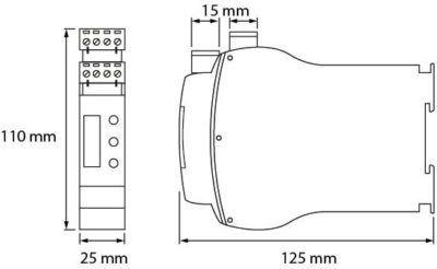 Dimmer DMX para control de iluminación led