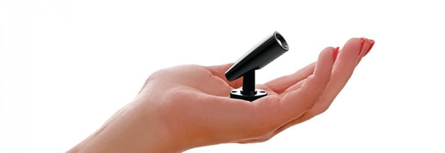 mini proyector led con óptica ajustable