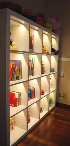 Iluminacin LED en mobiliario Luces led para interior y