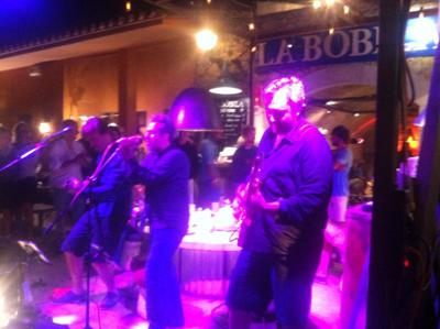 Barage Band en concierto