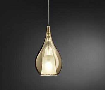 lámpara de cristal de diseño
