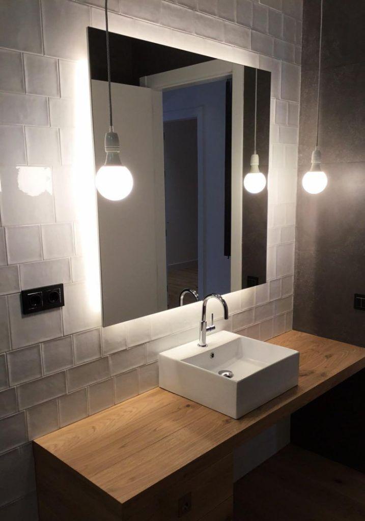 iluminación baños