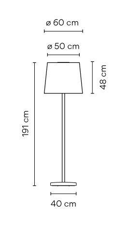 lamparas de jardín