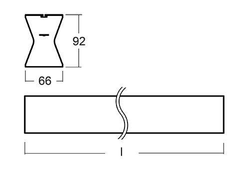 Luminaria led lineal iluminación indirecta