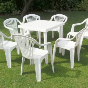 woven plastic garden chairs wood patio furniture buyers guide steel aluminium or