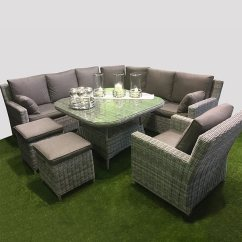 Henley Sofa And Chair Italian Manufacturers List Curved Corner Dining Set- Slate - Outside Edge ...