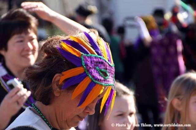 Nevada City Mardi Gras Parade